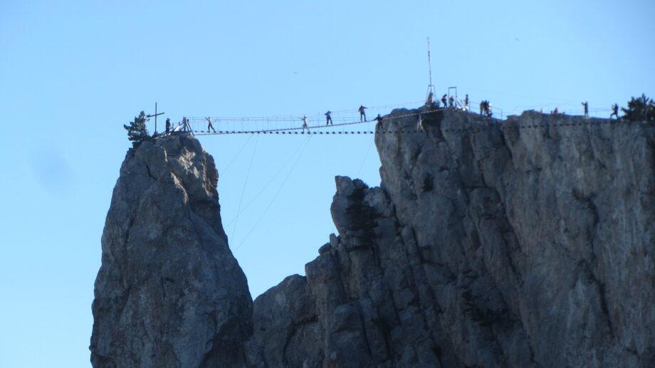 На Ай-Петри заработали подвесные мосты