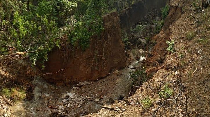 Закрыты почти все тропы, ведущие на Ай-Петри